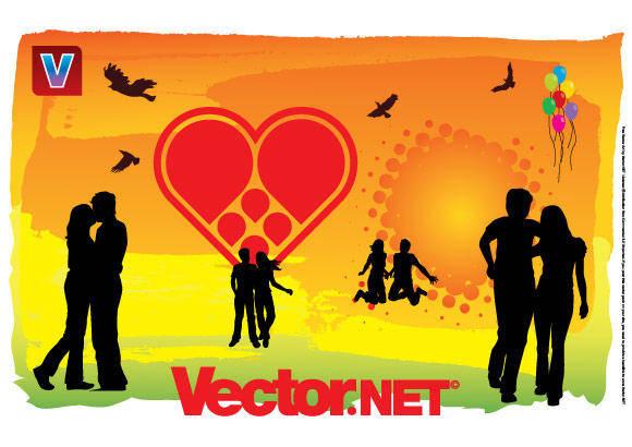 free vector Love Free Vector Art