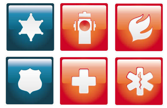 Emergency Vector Icon Set
