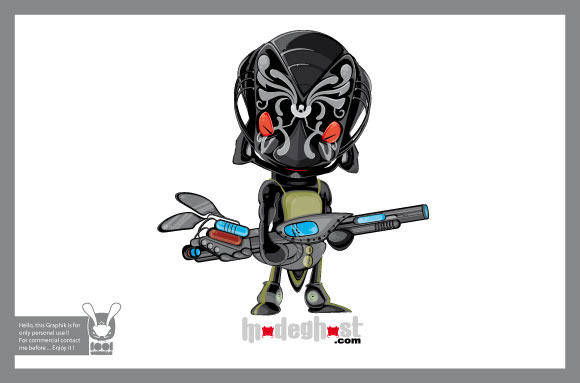 Head Alien Characters 2
