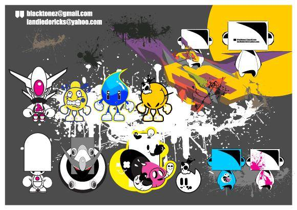 free vector Some Characters