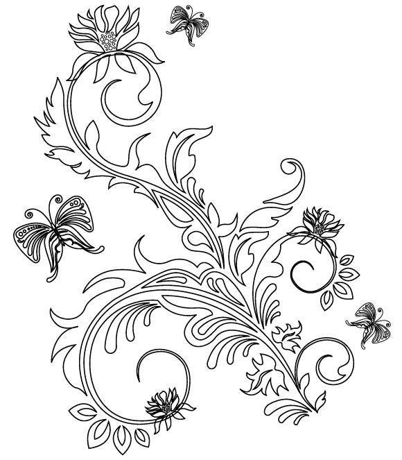 free vector Floral Ornaments 2