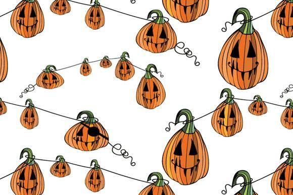 free vector Pumpkin Patterns