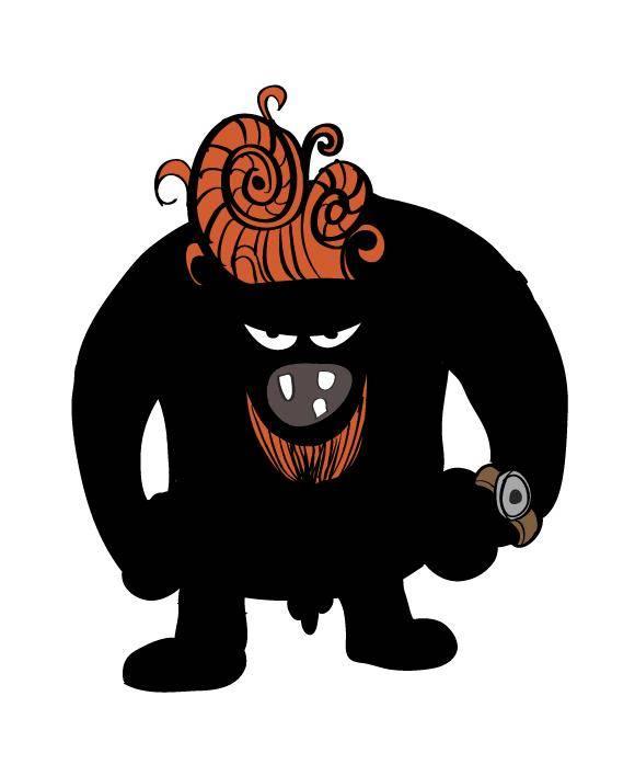 free vector Blackman monster