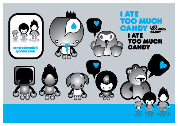free vector Candy