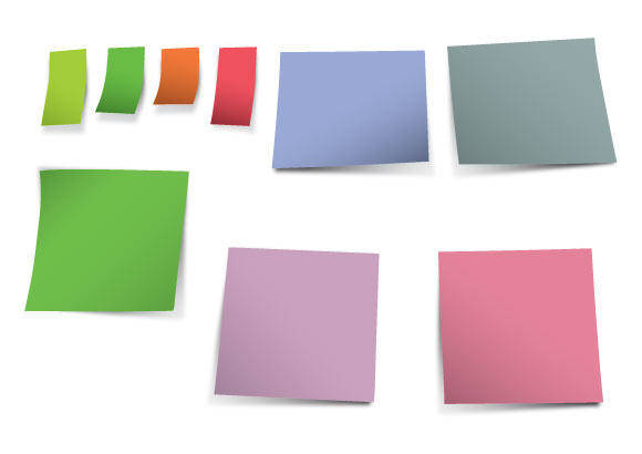 free vector Post-it