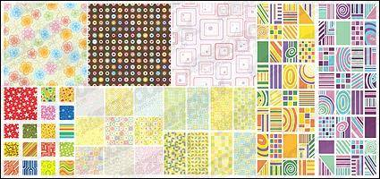 free vector Vector pattern practical background material -1