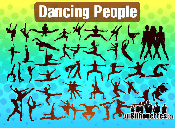 free vector Dancing People