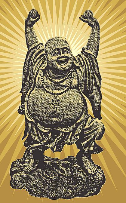 free vector Chineese Buddha