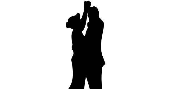 Dancing Couple free vector