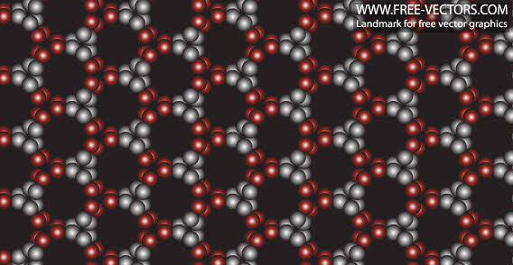 Free pattern black circle background