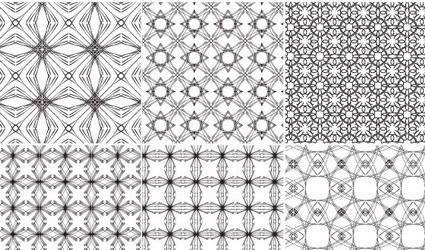 free vector Continental background pattern tile