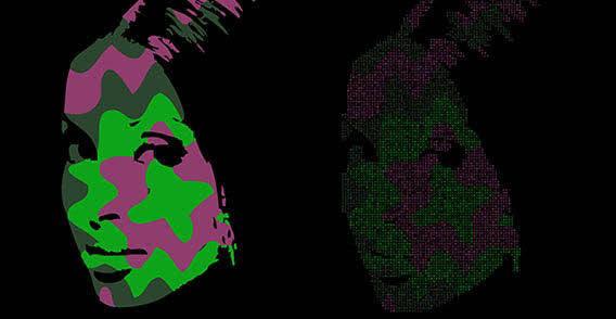 free vector Pop art face free vector