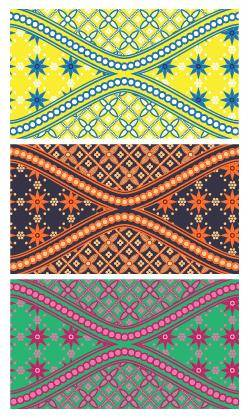 free vector Batik is Beautiful Swatch
