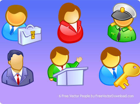 free vector Free Vector People - Professions