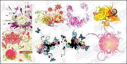 Trend pattern vector material