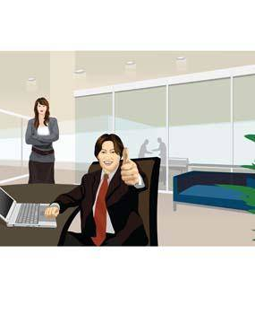 free vector Business people 2