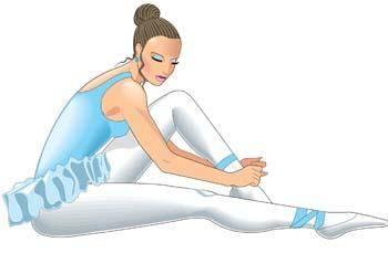 Ballet ballerine girl 1