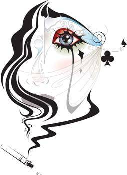 free vector Woman eyes 2