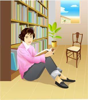 Sit girl position vector 11