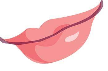 Sexy Lips vector 4