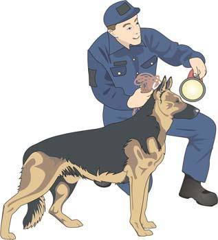free vector Boy and dog vector 2