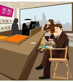 free vector Business people 6