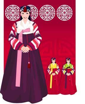 free vector Japanese women 3
