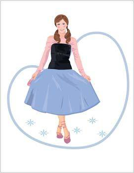 free vector Beautiful Urban Girl 22