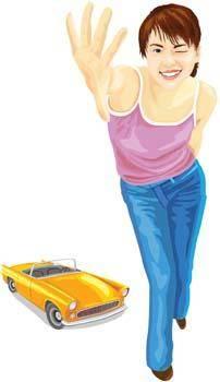 Automotive girl 3