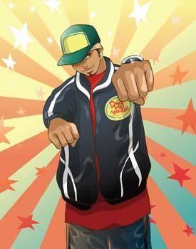 Rapper Vector 2