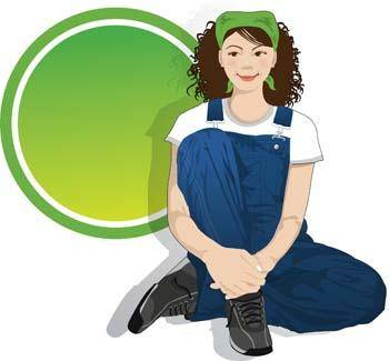 free vector Sit girl position vector 8