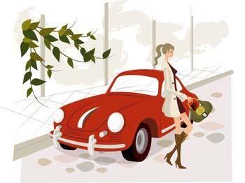 Automotive girl 6