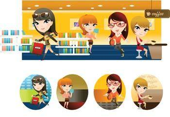 Shopping vector 1
