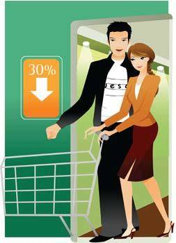Shopping vector 4