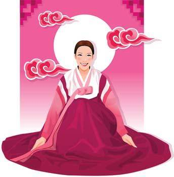 free vector Japanese women 7