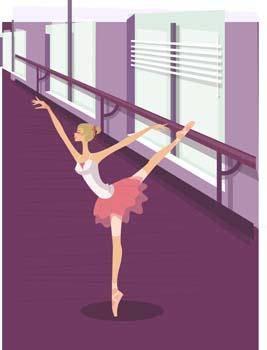 free vector Ballet ballerine girl 2