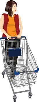 free vector Shopping vector 7