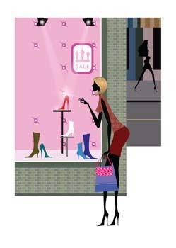 free vector Shopping urban 8