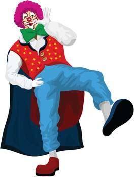 free vector Clown 1