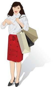 free vector Shopping urban 9