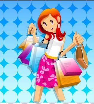 free vector Shopping urban 14