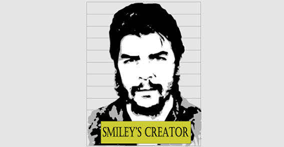 Famous man face free vector