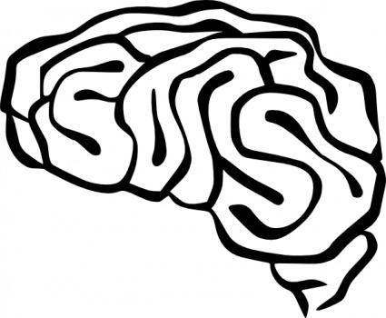 free vector Brain clip art