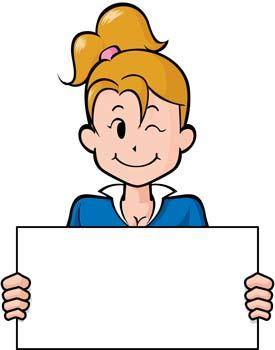 free vector Girl carrier board 22