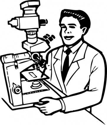 Scientist clip art