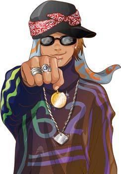 Rapper Vector 3