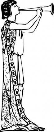 free vector Herald clip art