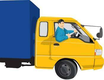 free vector Delivery Truck