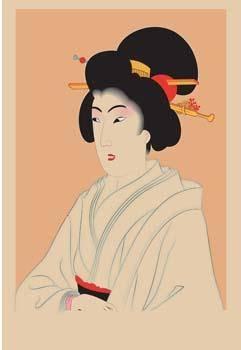 free vector Japanese women 1