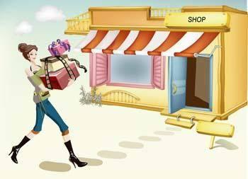 Shopping girl 19